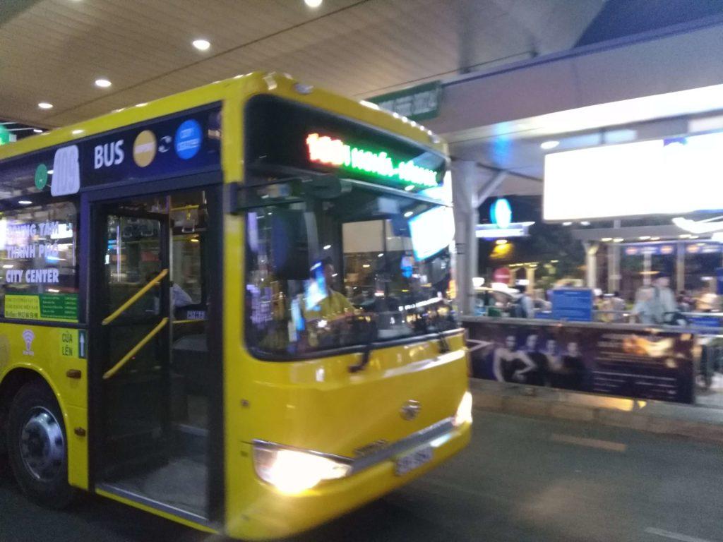 タンソンニャット空港⇄ホーチミン市内をバスで移動まとめ ...