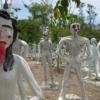 【タイの珍スポ】バンコクからバスで行ける地獄寺「ワットパイロンウア」